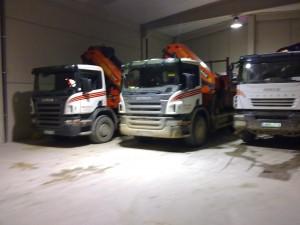 Camiones pluma