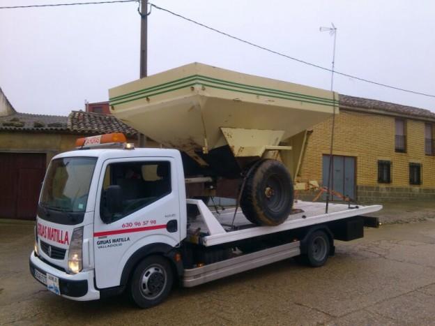 Transportes de maquinaria agricola